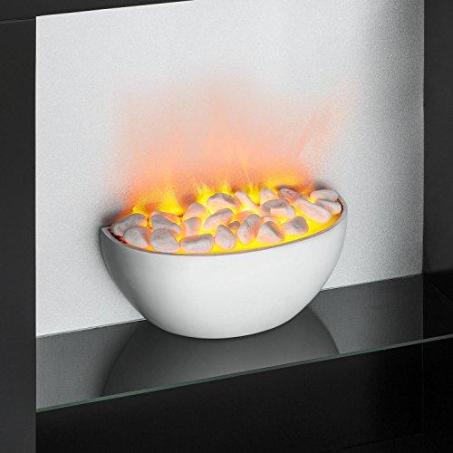Klarstein-Studio-8-Chimenea-elctrica–Calefactor-de-Pared–1000-y-2000-W–Calentador-con-Ventilador–Efecto-Llama-Independiente–hasta-40m–Negra