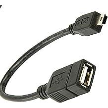 Cable Adaptador Host OTG USB 2.0 Hembra a Mini USB Macho para Tablet Movil PC 2467