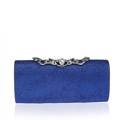 Damenmode waren Abendessen Tasche diamant Frau Handtasche alle - gleiches Kleid Abend Tasche Blue
