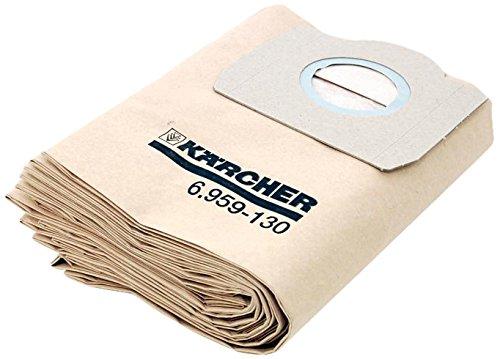 Karcher Filterbeutel für A2231, A2251, A2254, A2534, A2554 5 Stück