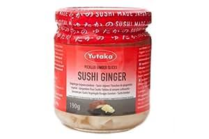 P0001 Yutaka Sushi Ginger Gari - 190G
