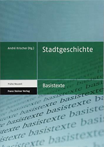 Stadtgeschichte (Basistexte - Frühe Neuzeit)