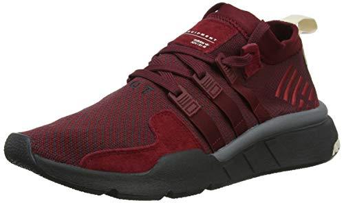 adidas Herren EQT Support Mid ADV Gymnastikschuhe Rot Collegiate Burgundy/Carbon/Clear Brown, 42 2/3 EU