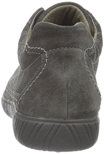 Gabor Shoes Comfort Basic, Scarpe Stringate Donna Grigio (Dark-Grey 39)