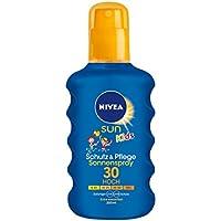 Nivea Sun Kids Schutz & Pflege Sonnenspray für Kinder, Lichtschutzfaktor 30, 1er Pack (1 x 200 ml)