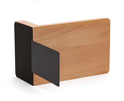 DFHHG® Soporte de libro, bloque de libro de potro creativo soporte de libro de madera grande estante de librería estante decoración del hogar durable ( Tamaño : Dos )