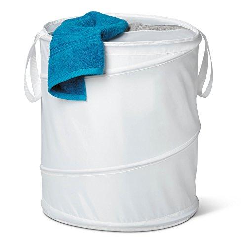 honey-can-do-hmp-01128-grosser-pop-up-waschesammler-nylon-stoff-weiss-5588-x-5588-x-571-cm