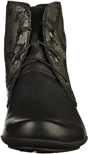 Think! Sammas, Desert Boots Femme Noir (Sz/kombi 09)