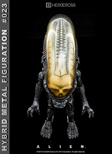 """[Configuracioen del metal hibrido """"Alien"""" # 023 altura extranjero de unos 14 centimetros pintado figura de accioen 6"""