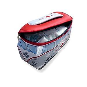 VW Collection by BRISA VW T1 Bus 3D Neopren Mäppchen – First Aid/inkl. Erste-Hilfe Set