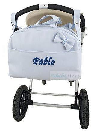 mibebestore - Bolso Polipiel Carrito Bebe Personalizado con nombre bor