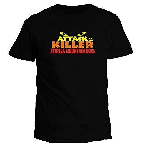 idakoos-attack-of-the-killer-estrela-mountain-dog-t-shirt