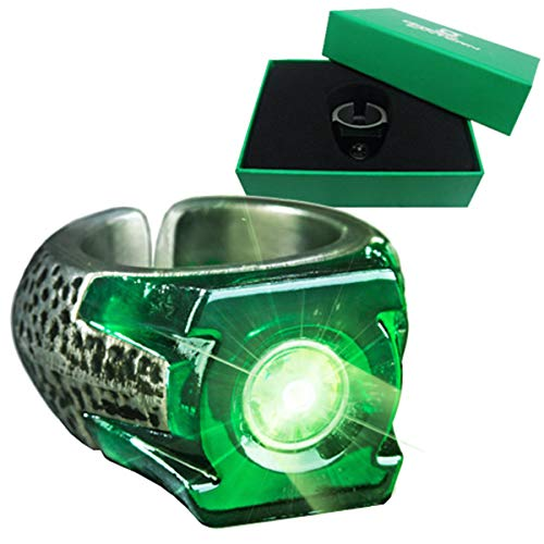 The Noble Collection Green Lantern Light-Up Ring () Accesorio de vestuario