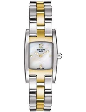 Uhr - Analog Edelstahl - T-Trend - bicolor