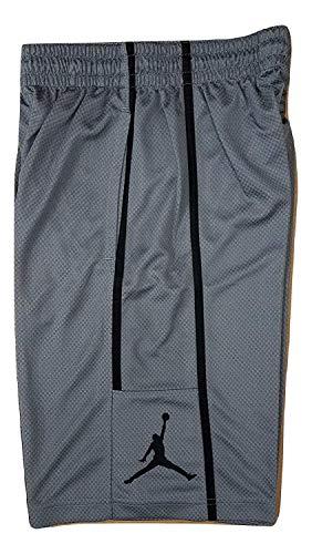 Nike Jordan Men's Jumpman Shorts Grey/Black AA1383 065 (Small)