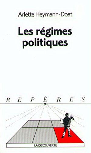 Repères, numéro 244 : Régimes politiques
