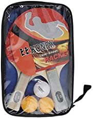 K K Konex Table Tennis Kit (Konex Wood Table Tennis Racquet Set)