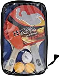 #2: K K Konex Table Tennis Kit (Konex Wood Table Tennis Racquet Set)