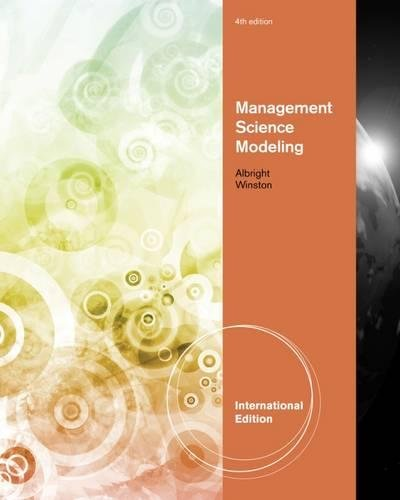 Management Science Modeling, International Edition (with Essential Textbook Resources Printed Access Card, Intl. Edition)