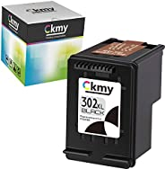 CKMY Remanufactured for HP 302 XL 302XL Cartucho de Tinta Negro & Color per HP Officejet 5220 5230 3830 38