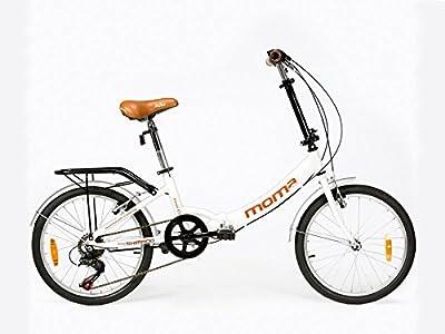 Moma - Bicicleta Plegable ruedas 20