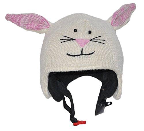 PINK YAK Überzug für Skihelm Kaninchen