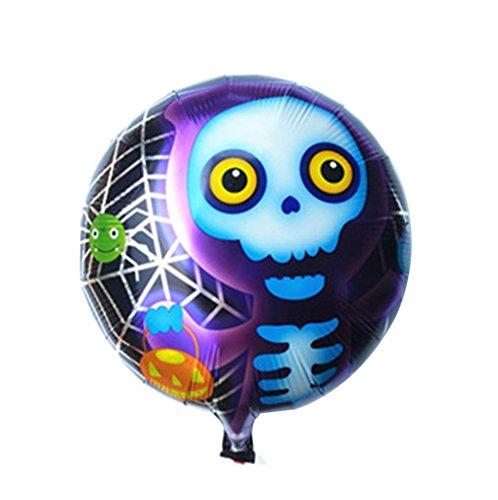 bis Halloween 18 Zoll Aluminium Film Ballon (C) (Alphabet Geformte Ballone)