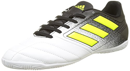 adidas Ace 17.4 IN S77100, Herren Fußballschuhe, Mehrfarbig (Ftwr White/solar Yellow/core Black), 46 2/3 EU (11.5 UK)