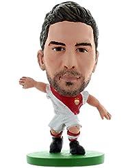 Soccerstarz - 400812 - Figurine Sport - Officiellement Autorisé De Joao Moutinho Dans Le Maillot Officiel Du As Monaco