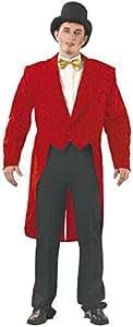 Frac gabardine homme rouge taille 54/56