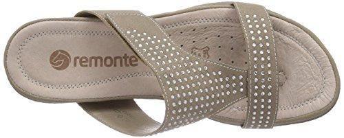 Remonte - R7452, Sabot Donna Beige (Beige (pebble 60))