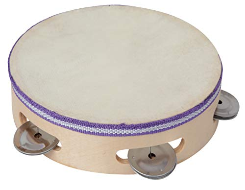 Bontempi 163213 Wooden Tambourine, Multi-Color