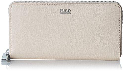HUGO-Damen-Nave-r-10195833-01-Geldbrse-Beige-Medium-Beige-19x10x15-cm