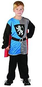 Reír Y Confeti - Ficmou023 - Disfraces para Niños - Pequeño Caballero Medieval Costume - Boy - Talla L