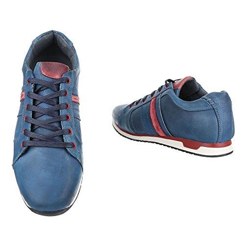 Ital-Design , chaussons d'intérieur homme Bleu