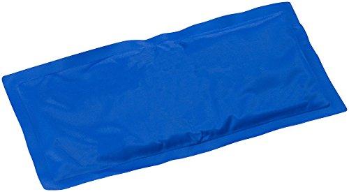 newgen medicals Unisex- Erwachsene PE-4716 Gelpack: Wiederverwendbare XL-Kalt-Warm-Kompresse, für Mikrowelle geeignet (Kühlkompressen), blau, 1