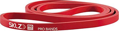 Sklz pro bands medium banda elastica resistenza media, rosso