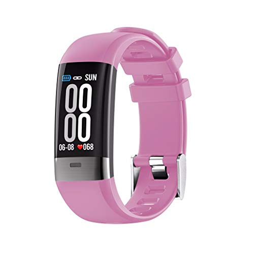 LRWEY Fitness Smart Watch, Touchscreen-Smart-Watch-Sport-Armband-Armband Mit SchrittzäHler-Herzfrequenz Smart Watch, FüR iOS Android