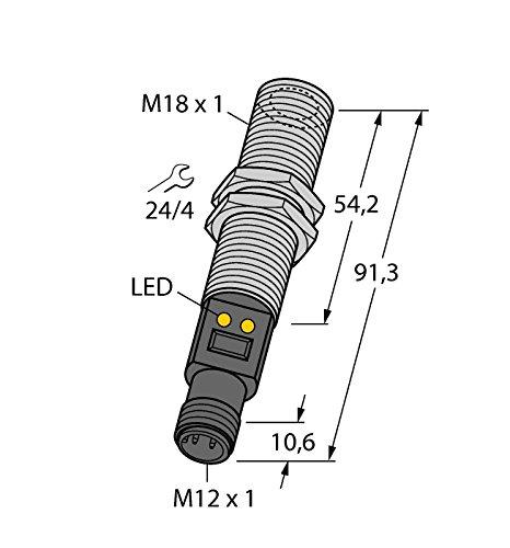 3073646-m18tb8q, capteurs de température Capteur infrarouge