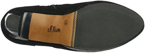 s.Oliver 25301, Bottes Classiques Femme Noir (Black Comb 98)