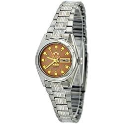 Orient # bnq1X 003P Damen Tri Star Bronze Zifferblatt Automatik Uhr