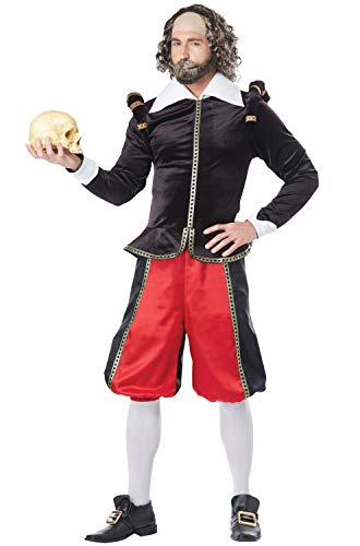 Renaissance Mann Adult Kostüm - California Costumes William Shakespeare Erwachsenenkostüm