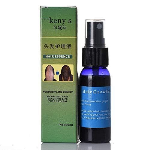 Zooarts Kräuter-Behandlungsspray für schnelles Haarwachstum, flüssig, Anti-Verlust, zur Behandlung von Haaren -