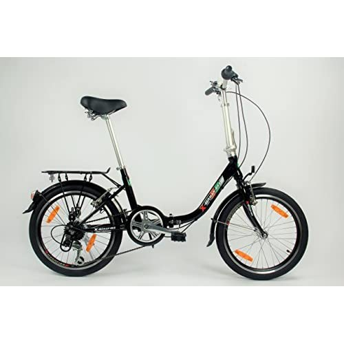 41ztWJWi82L. SS500  - xGerman Folding bike COMFORT 20-inch 6-speed Shimano color blue