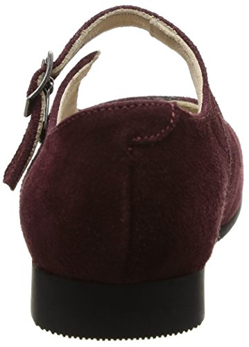 Start Rite Clare, Chaussures de ville fille Rouge (Wine Suede)