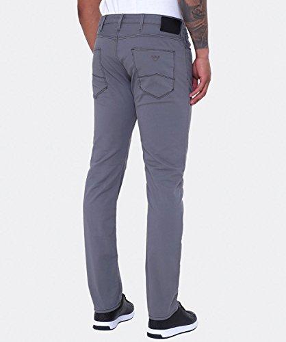 Armani Jeans Hommes Slim fit jeans gabardine j06 Gris Gris
