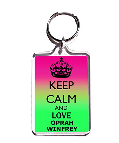 keep-calm-and-love-oprah-winfrey-porte-cle