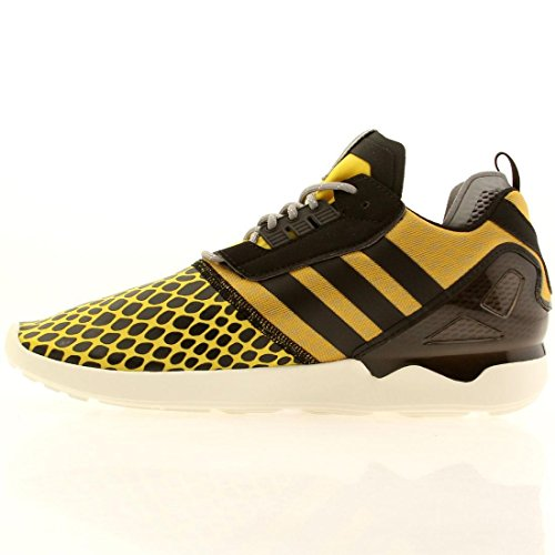 Adidas Zx 8000 Boost (multi / Mist Slate / Nero / Tomato) -6.0 Yellow / Black-Grey