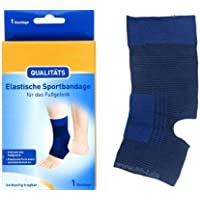 Fuss Fußgelenk Sportbandage Bandage elastisch, Gr. L preisvergleich bei billige-tabletten.eu