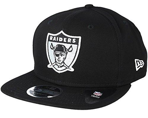 New Era Oakland Raiders Historic Original Fit 9FIFTY Snapback Black afde452884d6